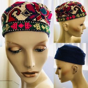 Colorful REVERSIBLE African Kufi Style HAT…